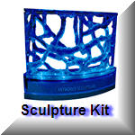 Sculpture kit in stock Living ant art at its finest